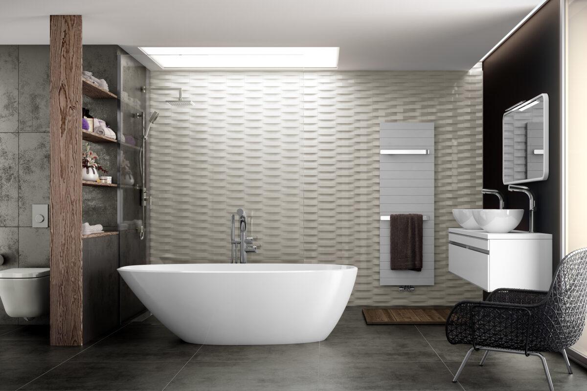 Оформление ванны в ванной комнате