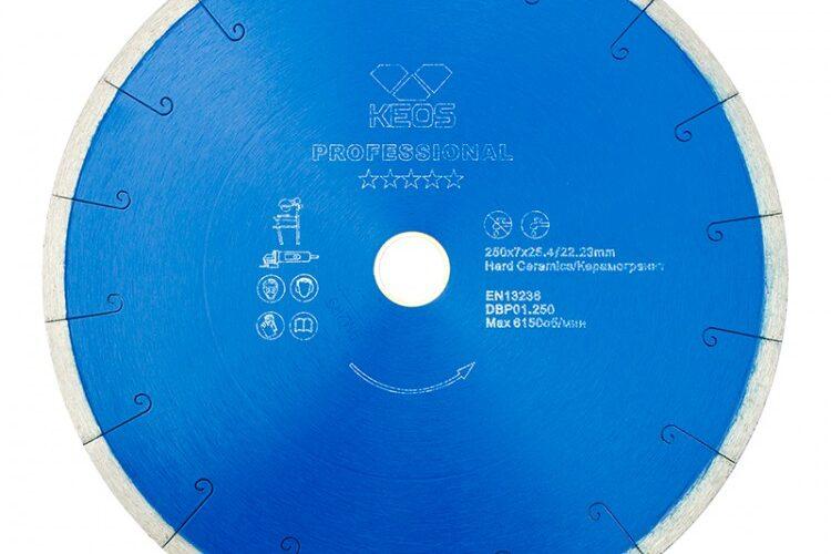 Характеристика алмазных дисков