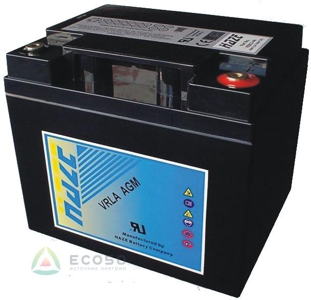 Аккумуляторные батареи Haze HZB