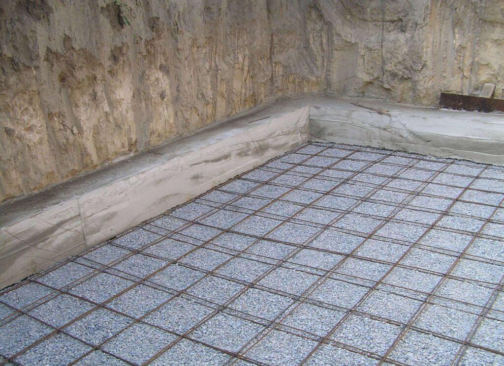 Особенности армирования бетонного пола